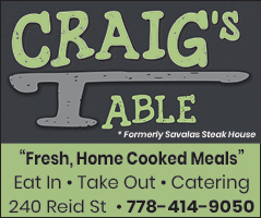 Craig's Table - Home Cooked Meals