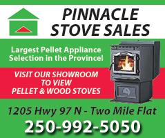 Pinnacle Stove Sales